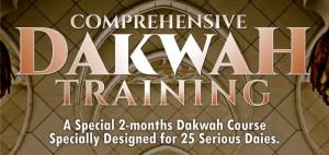 Dakwah Training: Comprehensive Dakwah Training
