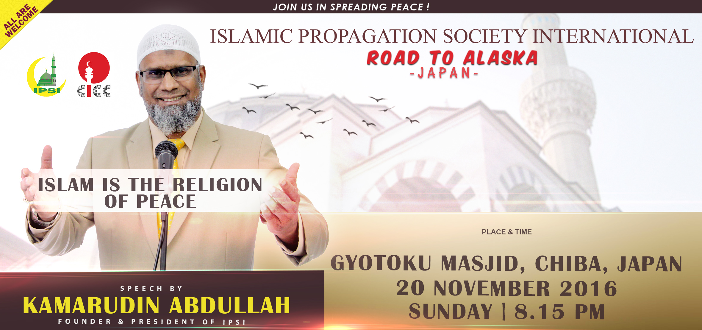 Road To Alaska – Japan (Islam is the Religion of Peace)