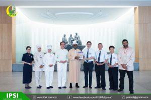 Lawatan Presiden IPSI ke Buddhist Tzu Chi Dialysis Centre Penang