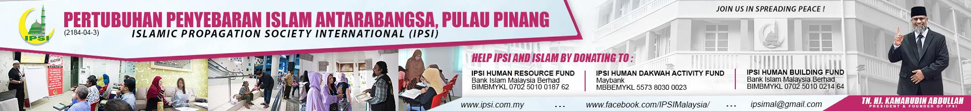 IPSI > Islamic Propagation Society International