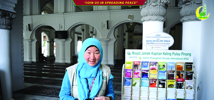 A News Revert's Sharing in Free Guided Mosque Tour Programme