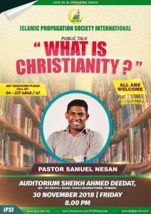 "Pastor Samuel Nesan ""WHAT IS CHRISTIANITY"""