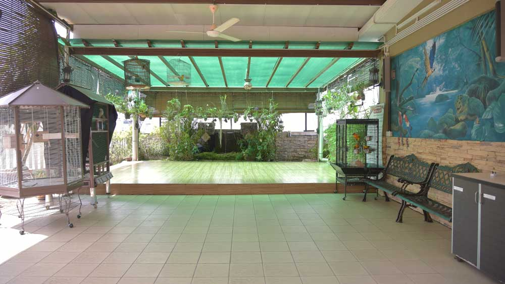 Garden & Multi-Purpose Hall