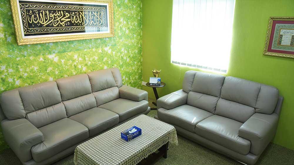Caunseling/Shahadah Room